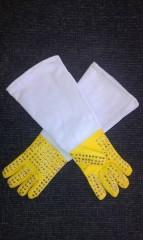 Ochranné rukavice s nýty